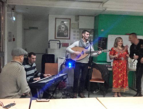 Concert de musique Berbère sur la Péniche