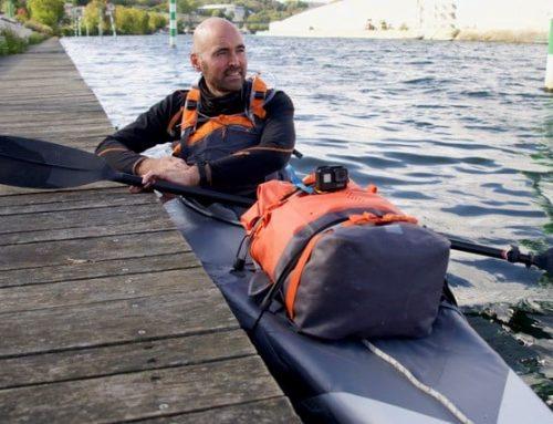 370 km en kayak pour la Péniche du Coeur